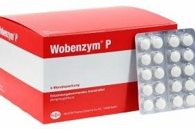 Применение Вобэнзима для лечения простатита