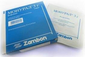 Подавление симптоматики цистита Монуралом в кратчайшие сроки