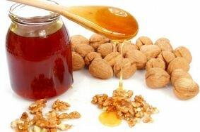 Рецепты из грецких орехов и меда при эректильной дисфункции