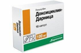 Результативная терапия воспаления простаты доксициклином