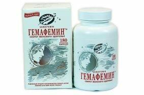 Особенности лечения климакса с помощью Гемафемина