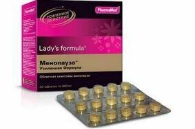 Лечение менопаузы препаратом Ледис Формула с усиленной формулой