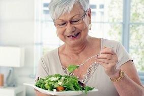 Основные правила правильного питания в период менопаузы