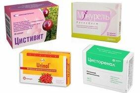 Выбор препаратов на основе клюквы