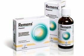 Особенности использования капель Ременс при лечении климакса