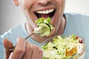 Подбор диеты для лечения простатита