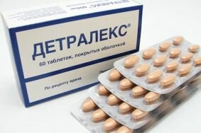 Схема приема Детралекс при воспаленной простате