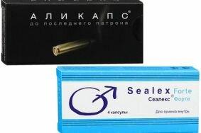 Отличия препаратов Аликапса от Сеалекса для улучшения потенции