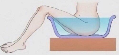 Принятие ванночки при цистите