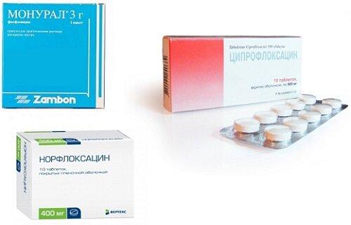 распространенные антибиотики