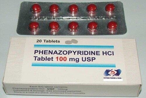 Феназопиридин и цистит
