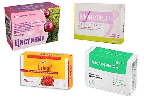 препараты с клюквой