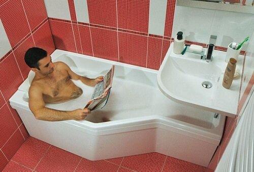 прием ванной