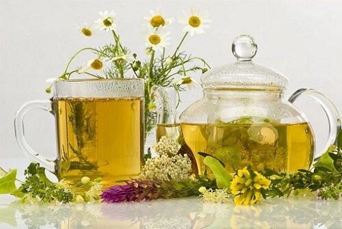 чай из травяных сборов