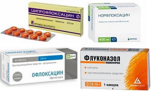 таблетки от уретрита