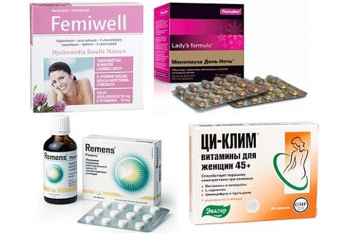 препараты содержащие фитоэстрогены