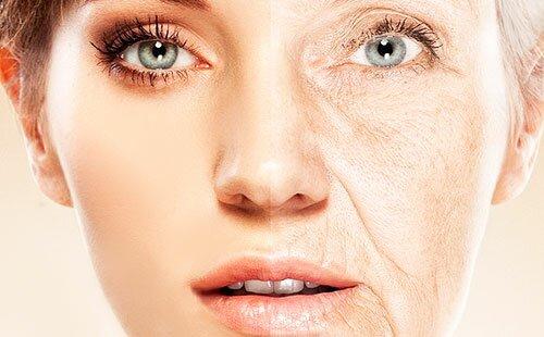 Старение кожных покровов