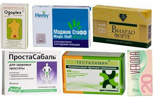 Повышение потенции у мужчин препараты отзывы
