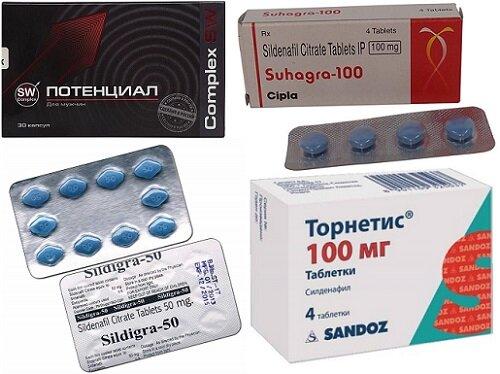 эффективные препараты при эректильной дисфункции