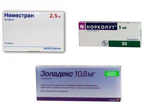 Лечение эндометриоза при климаксе