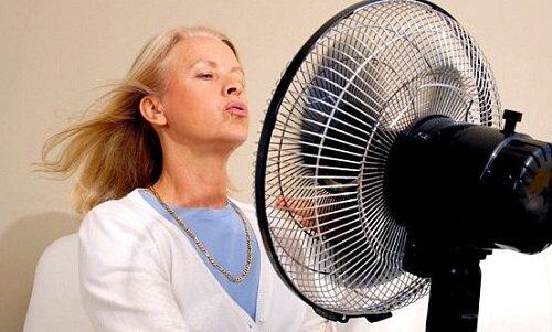 Приливы жара при менопаузе