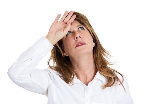 Симптомы приливов