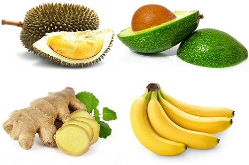 Бананы и имбирь