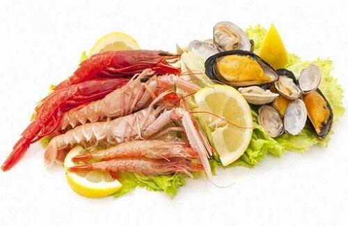 морепродукты для мужчин
