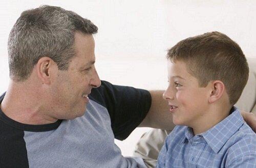 разговор отца с ребенком