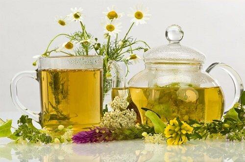 Травяные отвары вместо чая