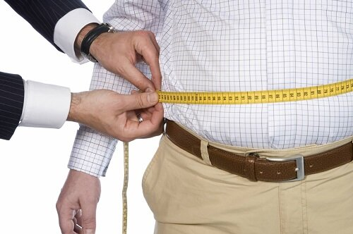 вес мужчины